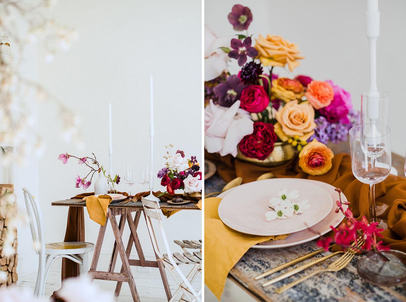 Scandinavian Styled Wedding