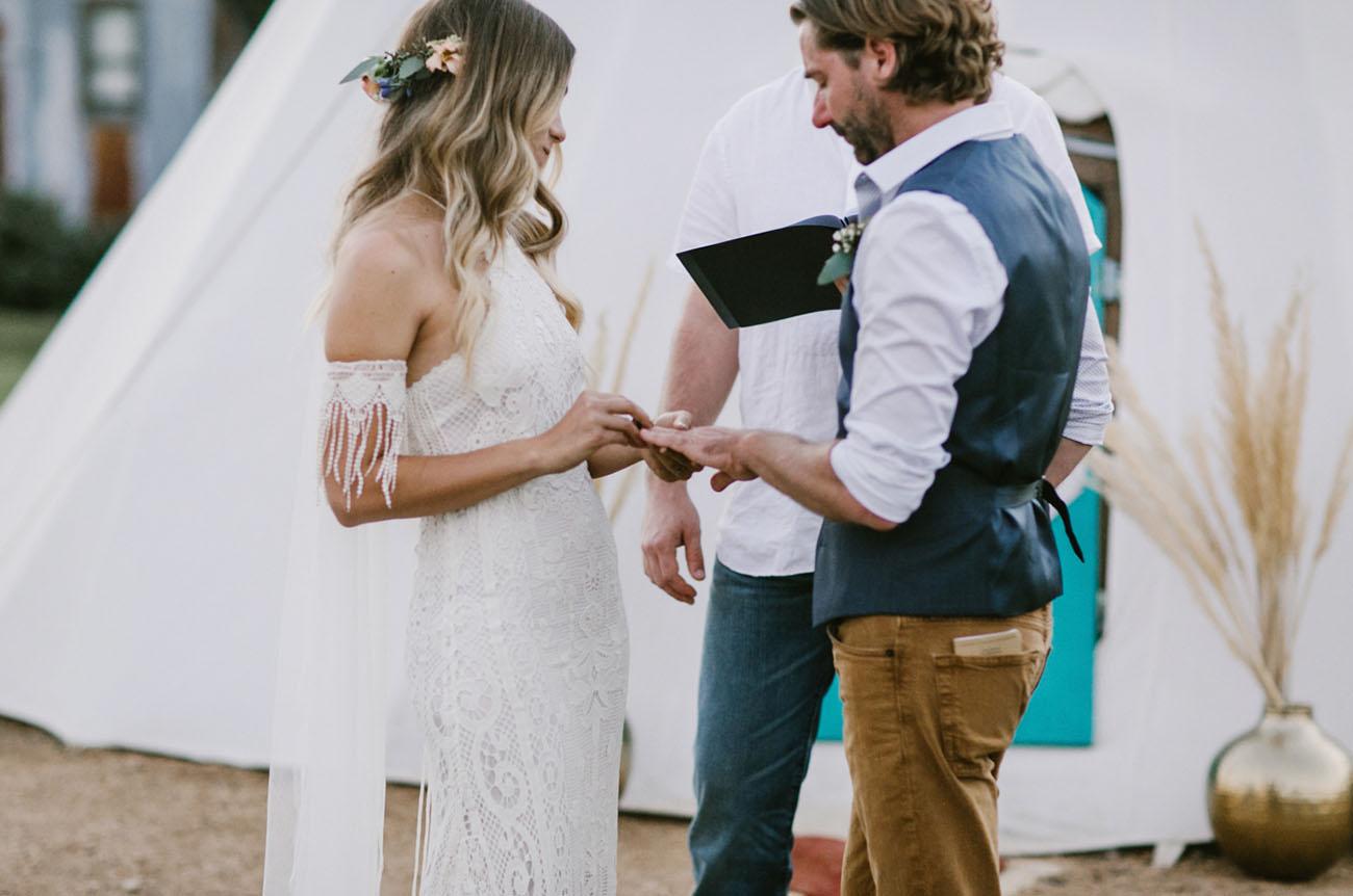 Round Top Texas Wedding