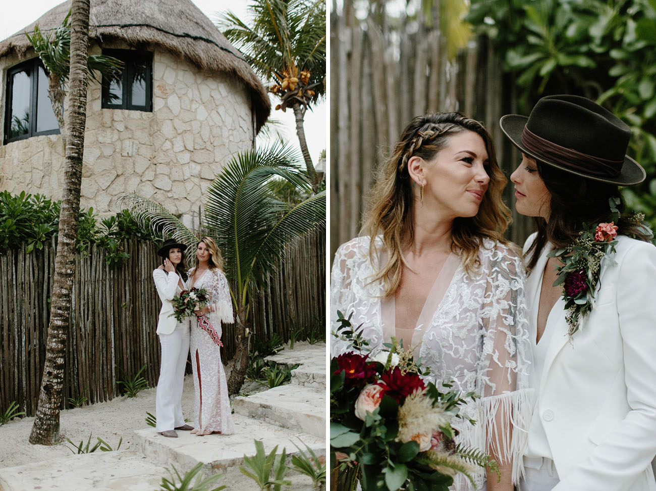 Rock & Roll Tulum Wedding