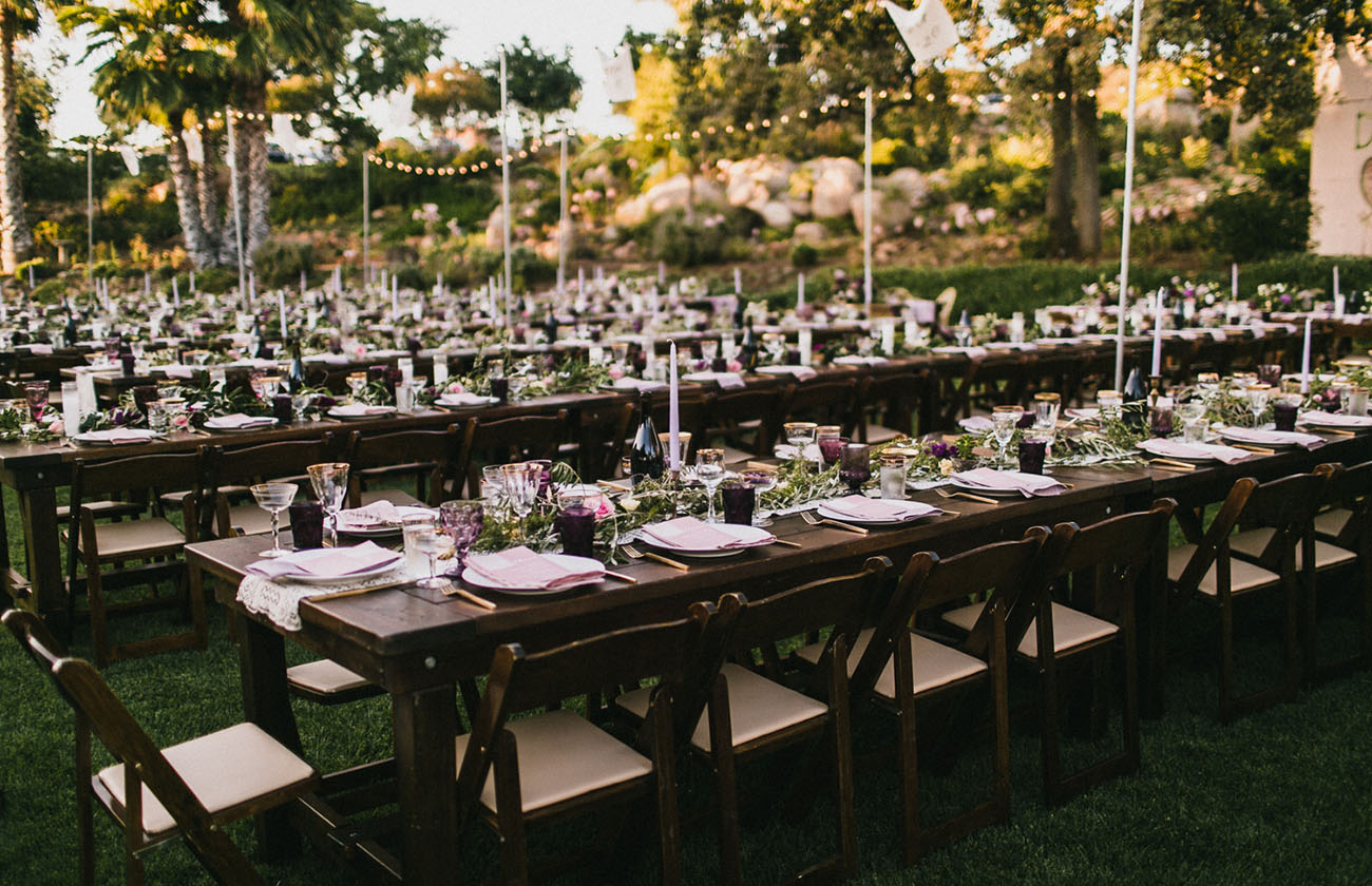 Boho Backyard Wedding