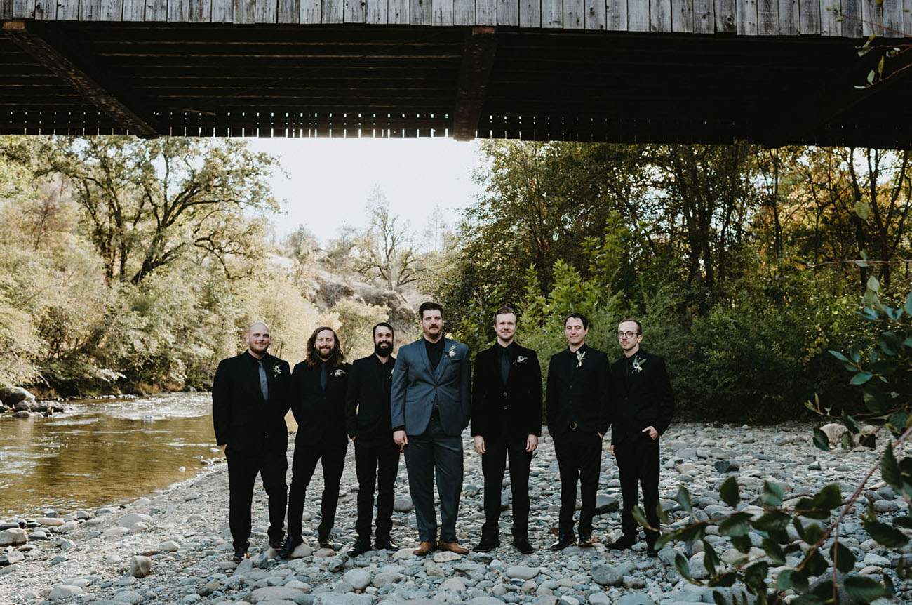 California Covered Bridge Wedding