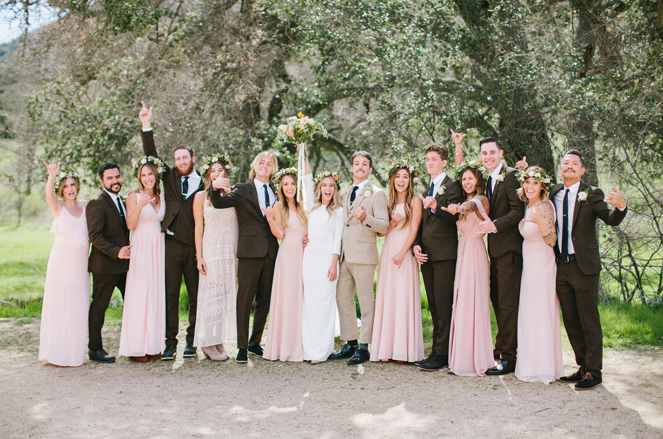 California Western Inspired Wedding