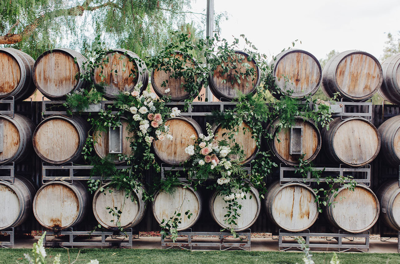 barrel backdrop