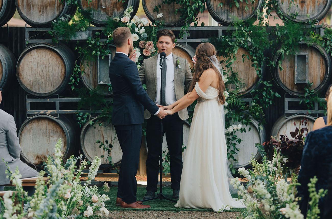 Los Olivos Bohemian Wedding