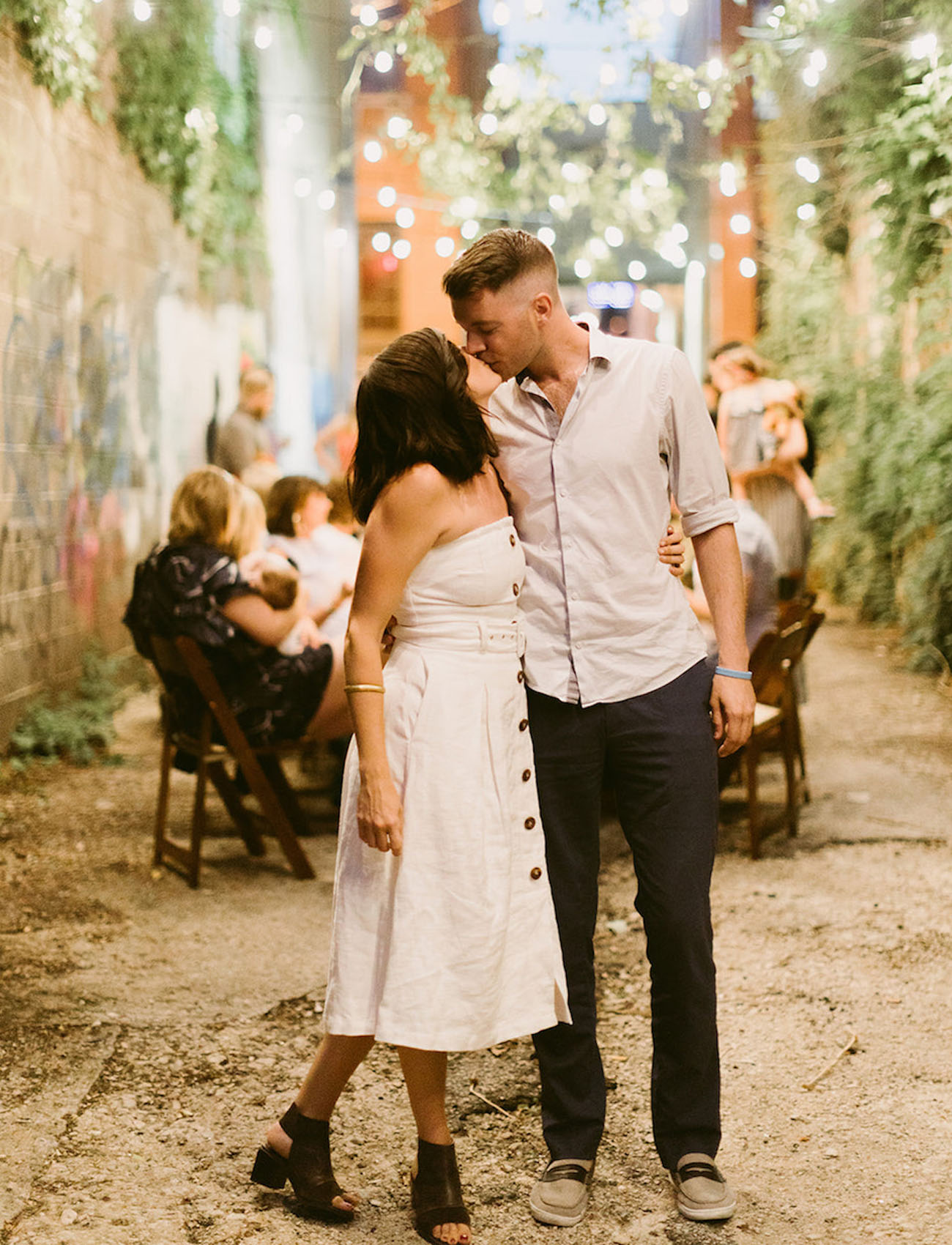 Alley Engagement Party