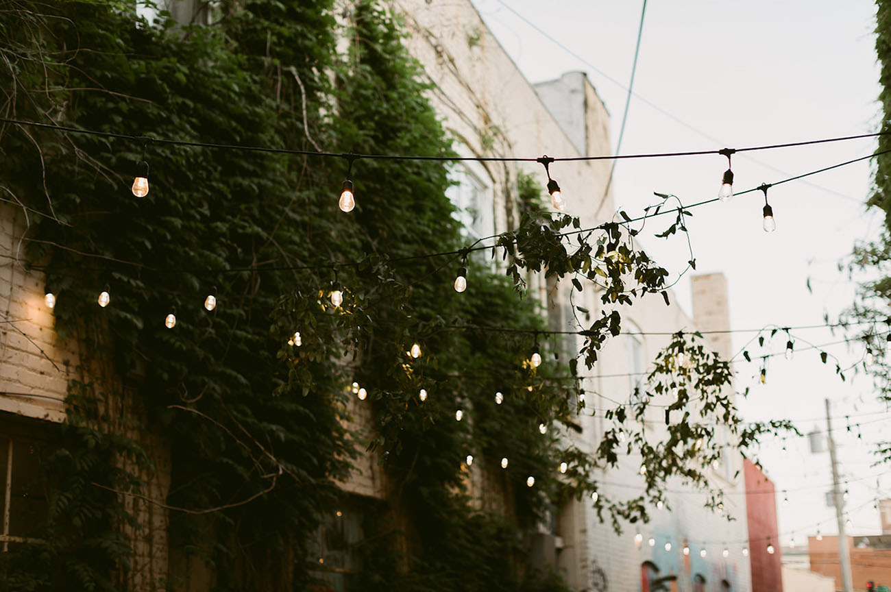 bistro lights