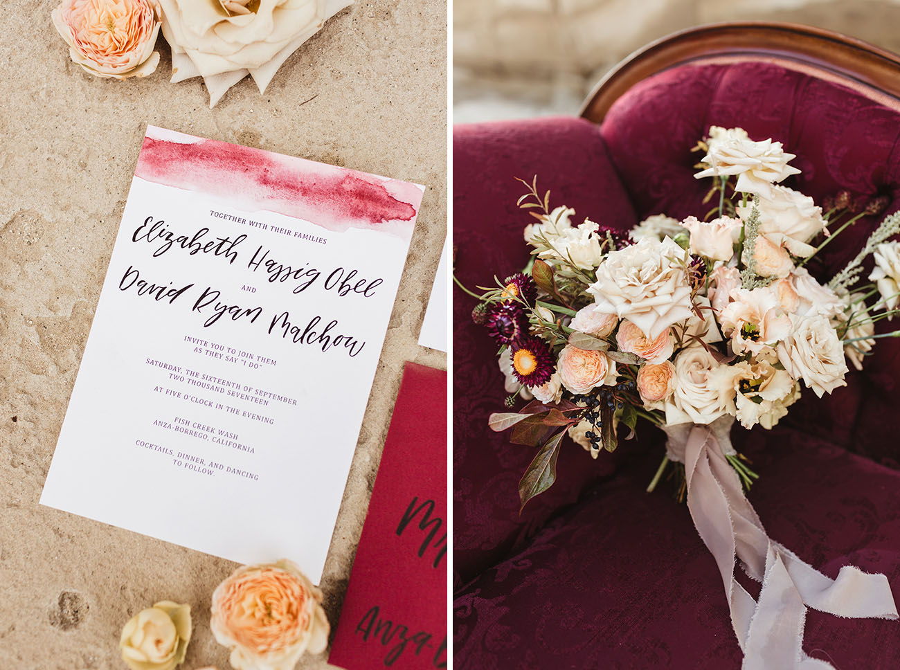 Boho Desert Wedding Inspiration