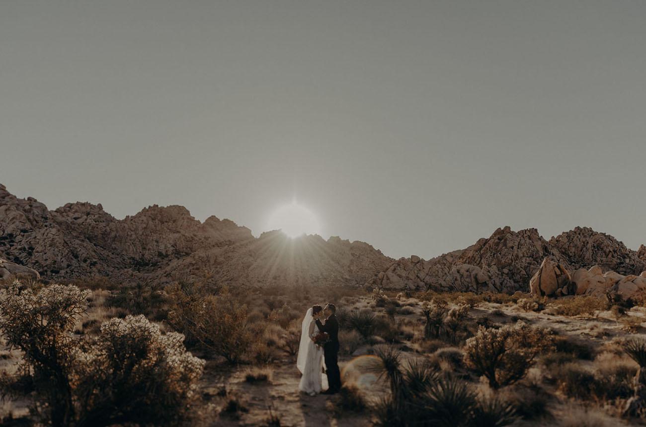 Desert to LA Wedding
