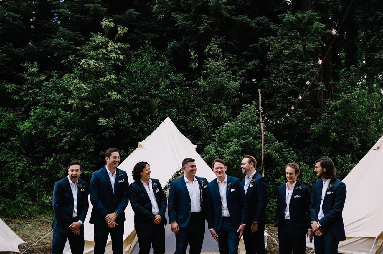 California Glamping Wedding