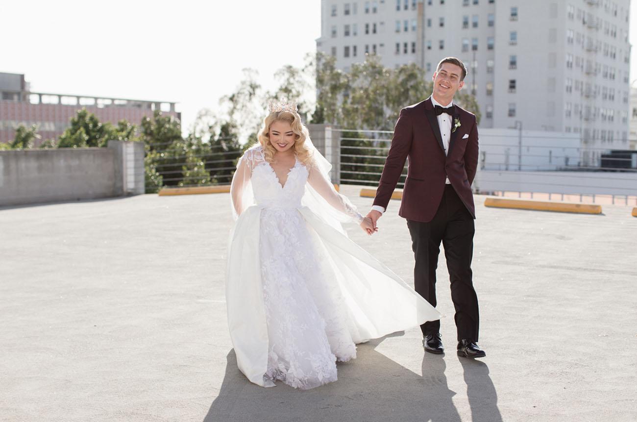 Vintage Downtown LA Wedding