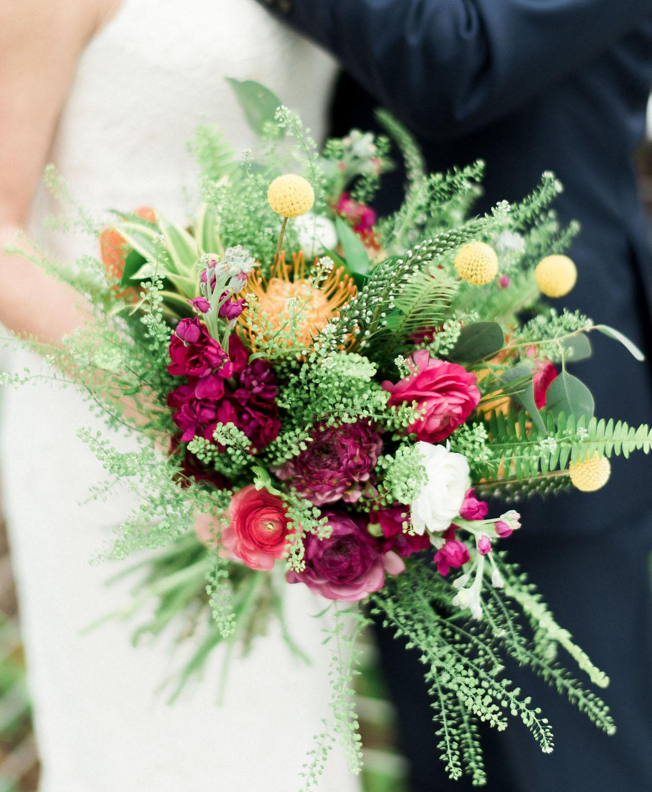 wispy red bouquet