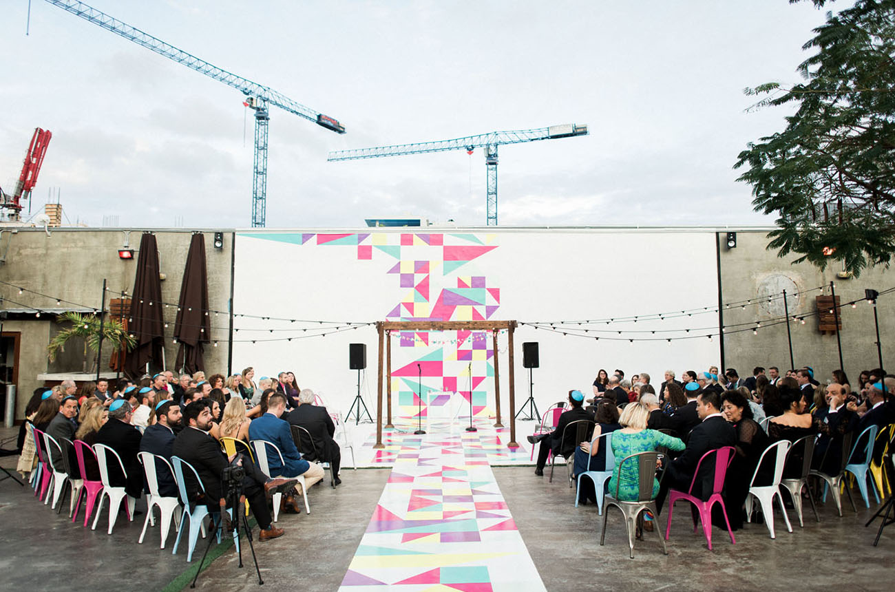 Colorful Geometric Wedding