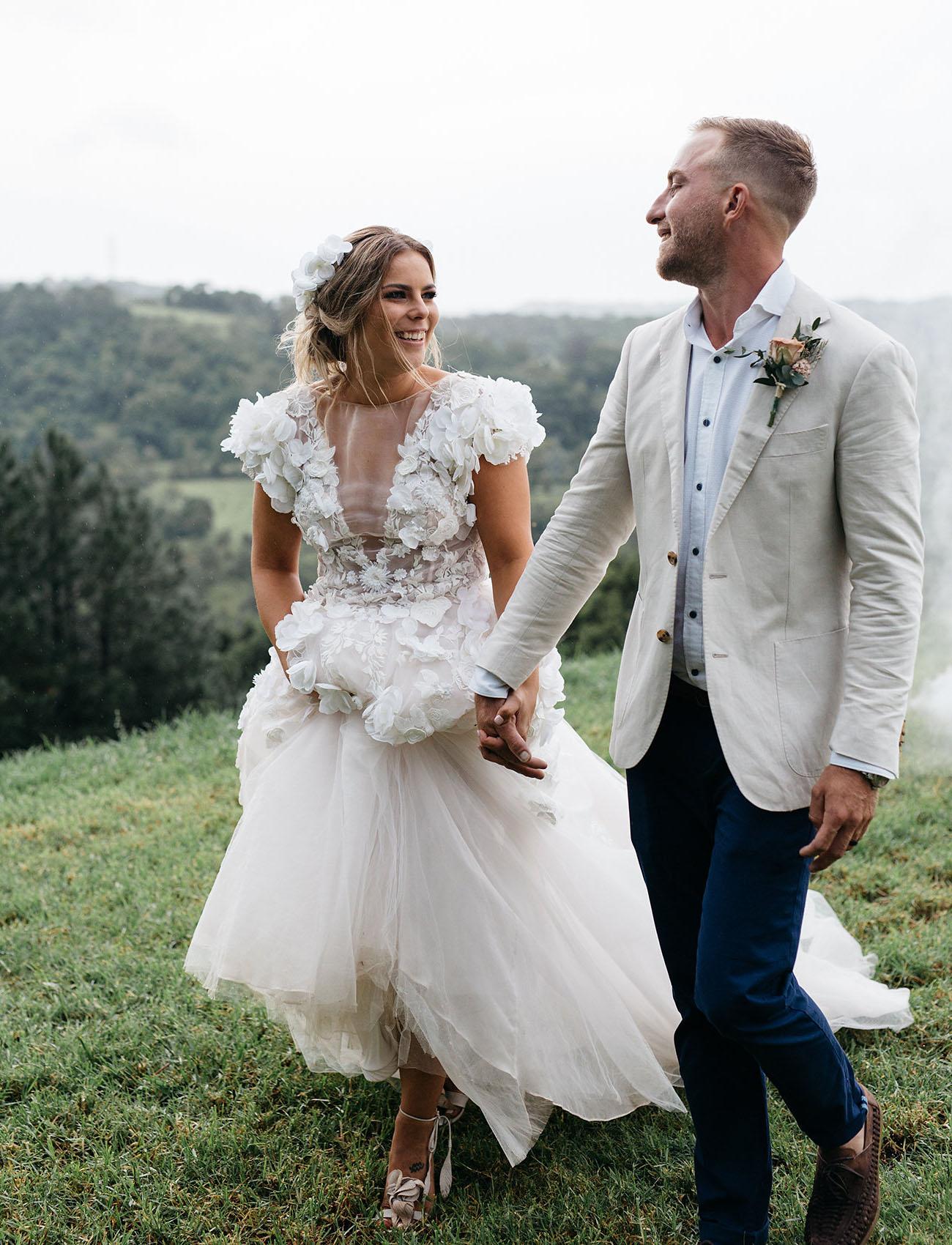 Rustic Modern Australian Wedding