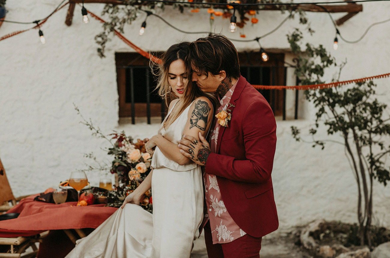 Spain Inspired Elopement