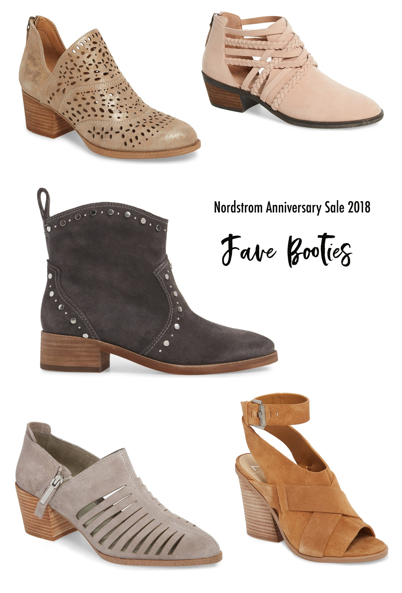 Fave Booties from the Nordstrom Anniversary Sale