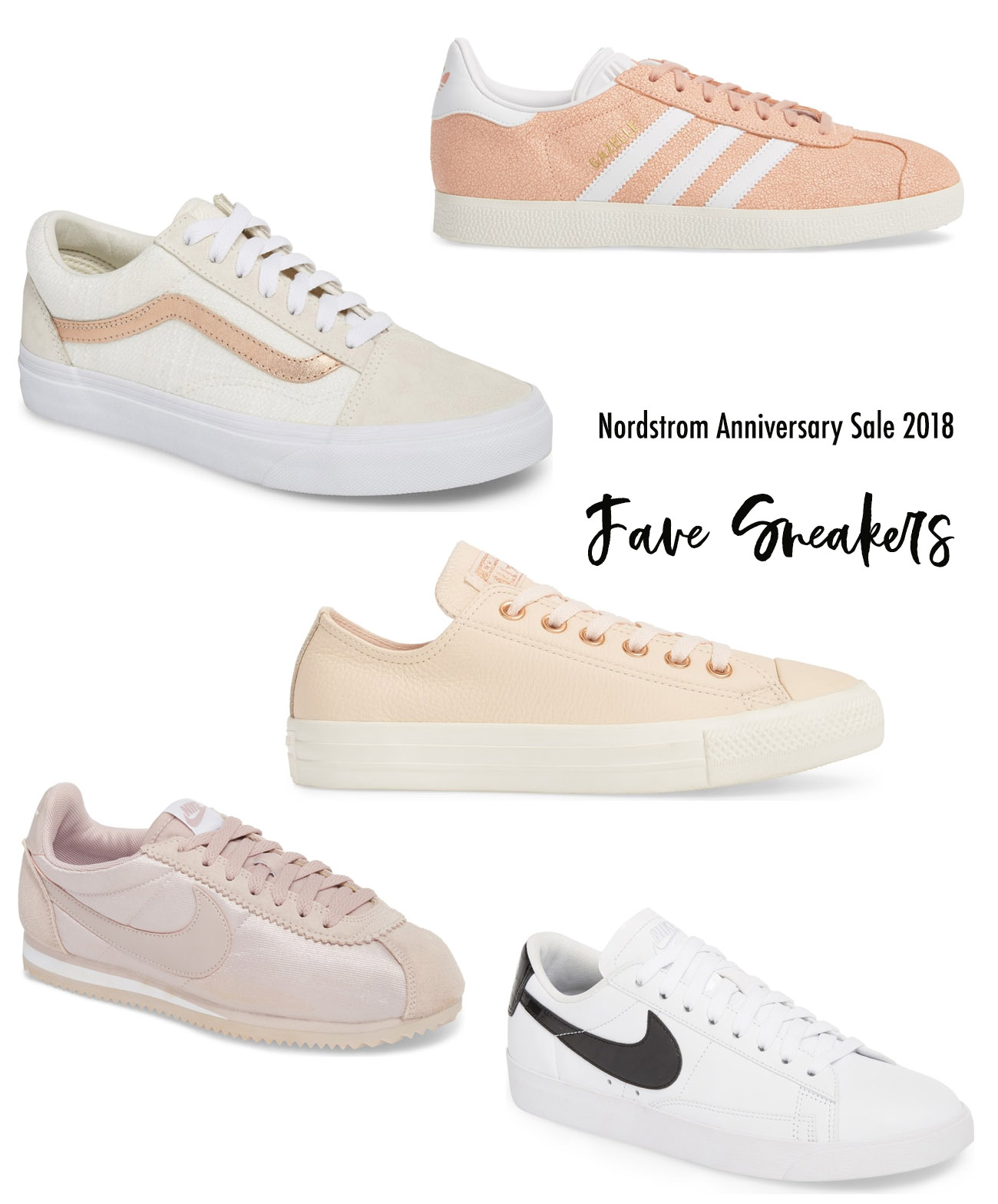 Fave Sneakers from the Nordstrom Anniversary Sale