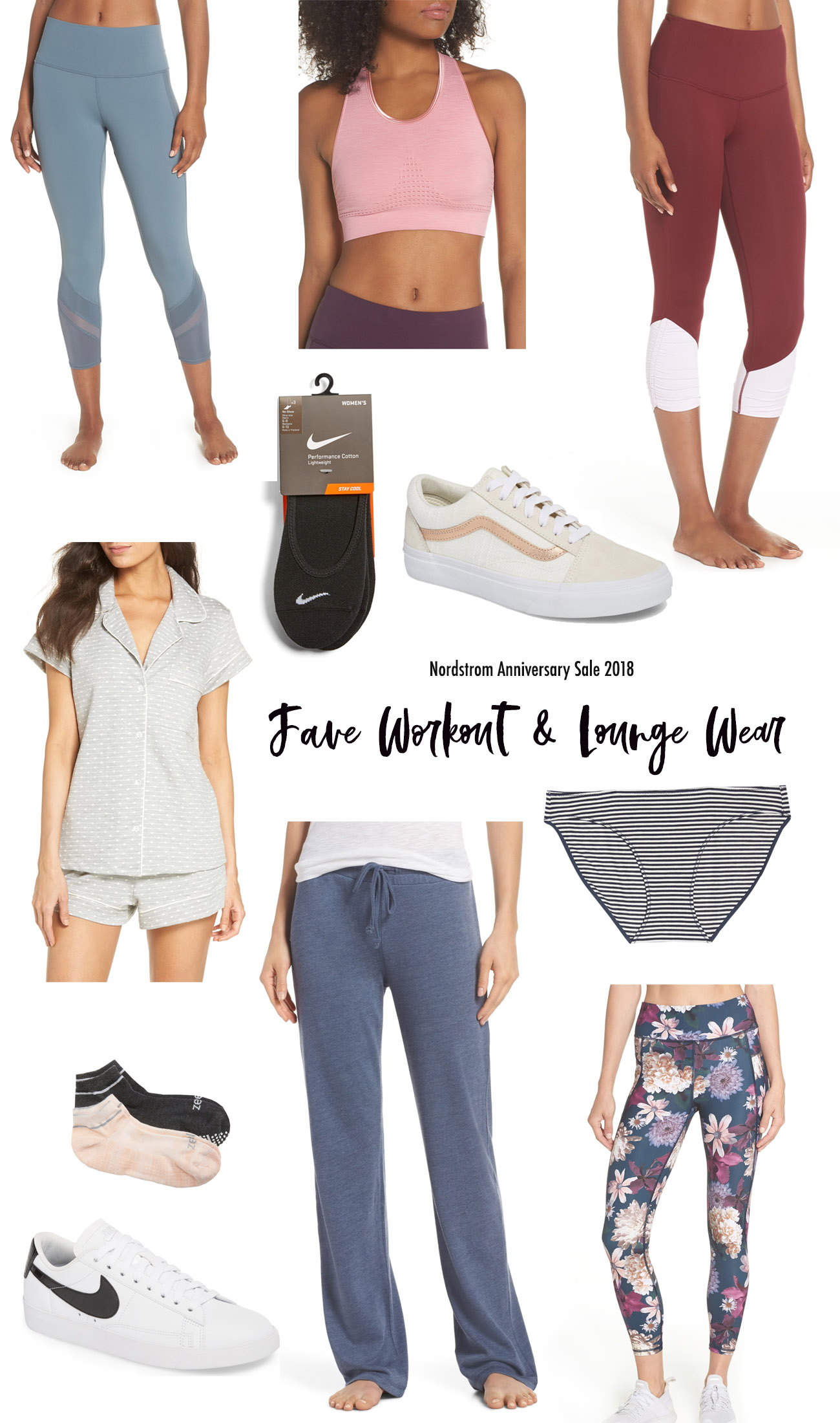 nordstrom sale 2018 fave workout and lounge picks