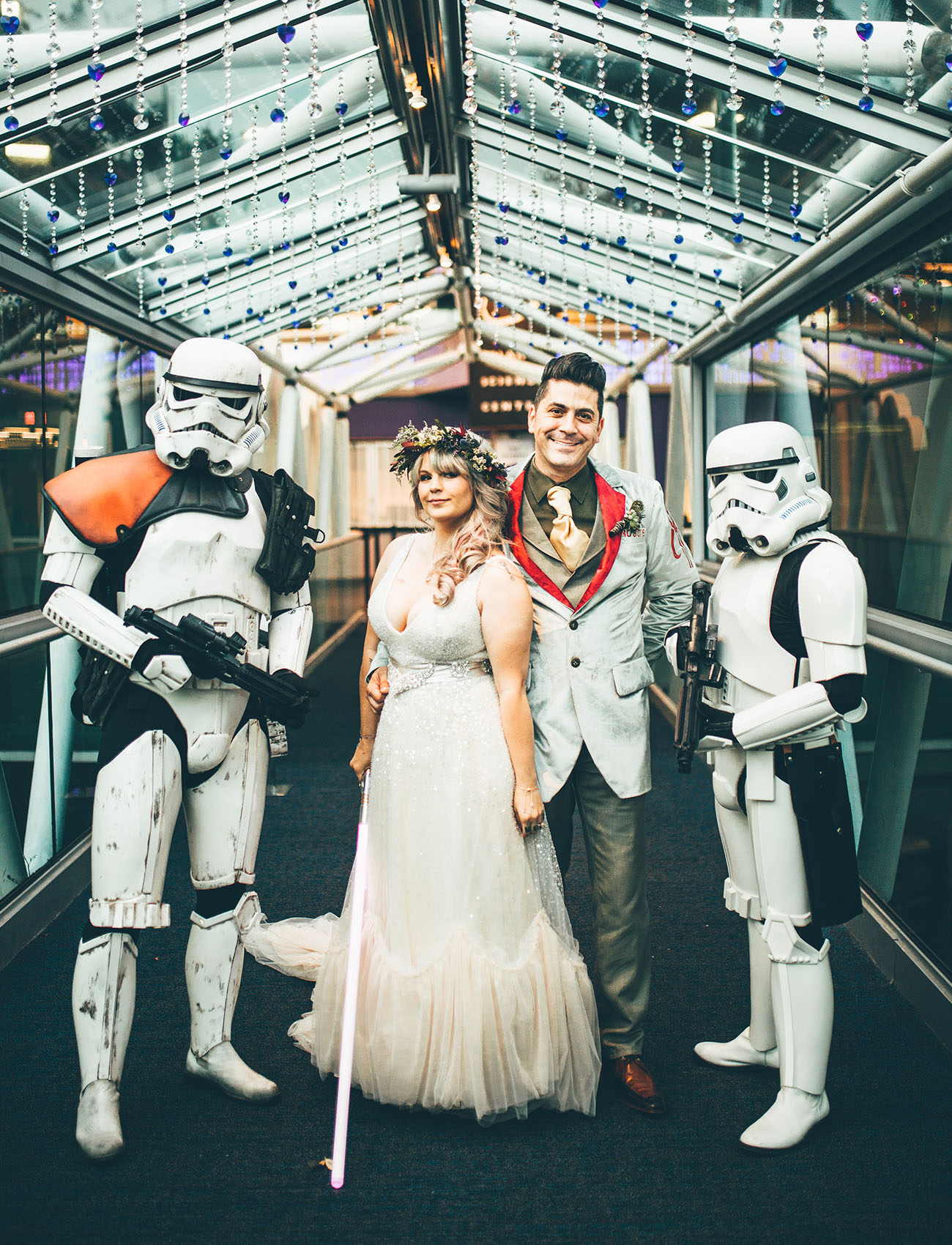 Star Wars Celebration Wedding
