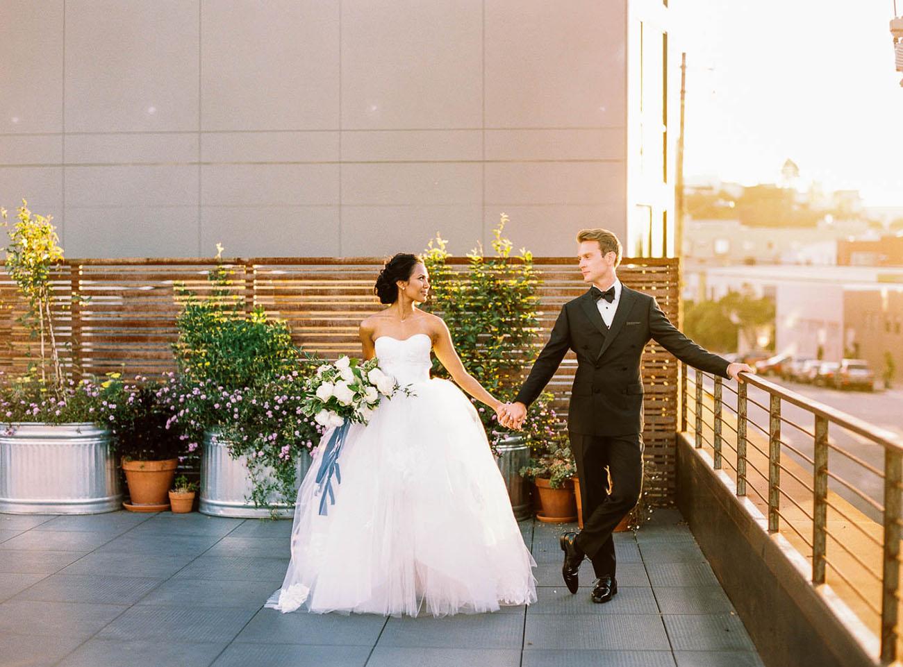 Modern San Francisco Wedding