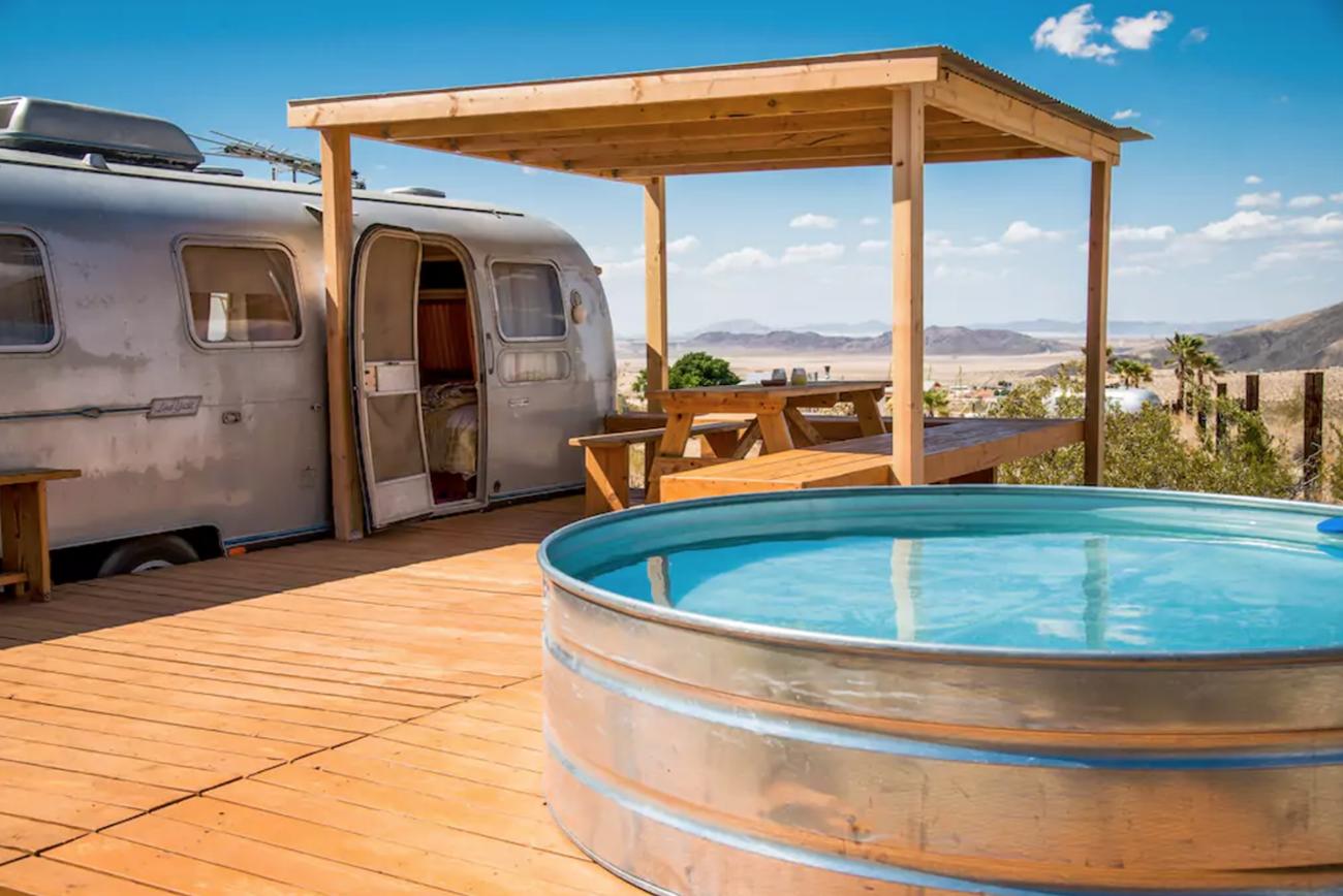 Vintage Airstream Airbnb