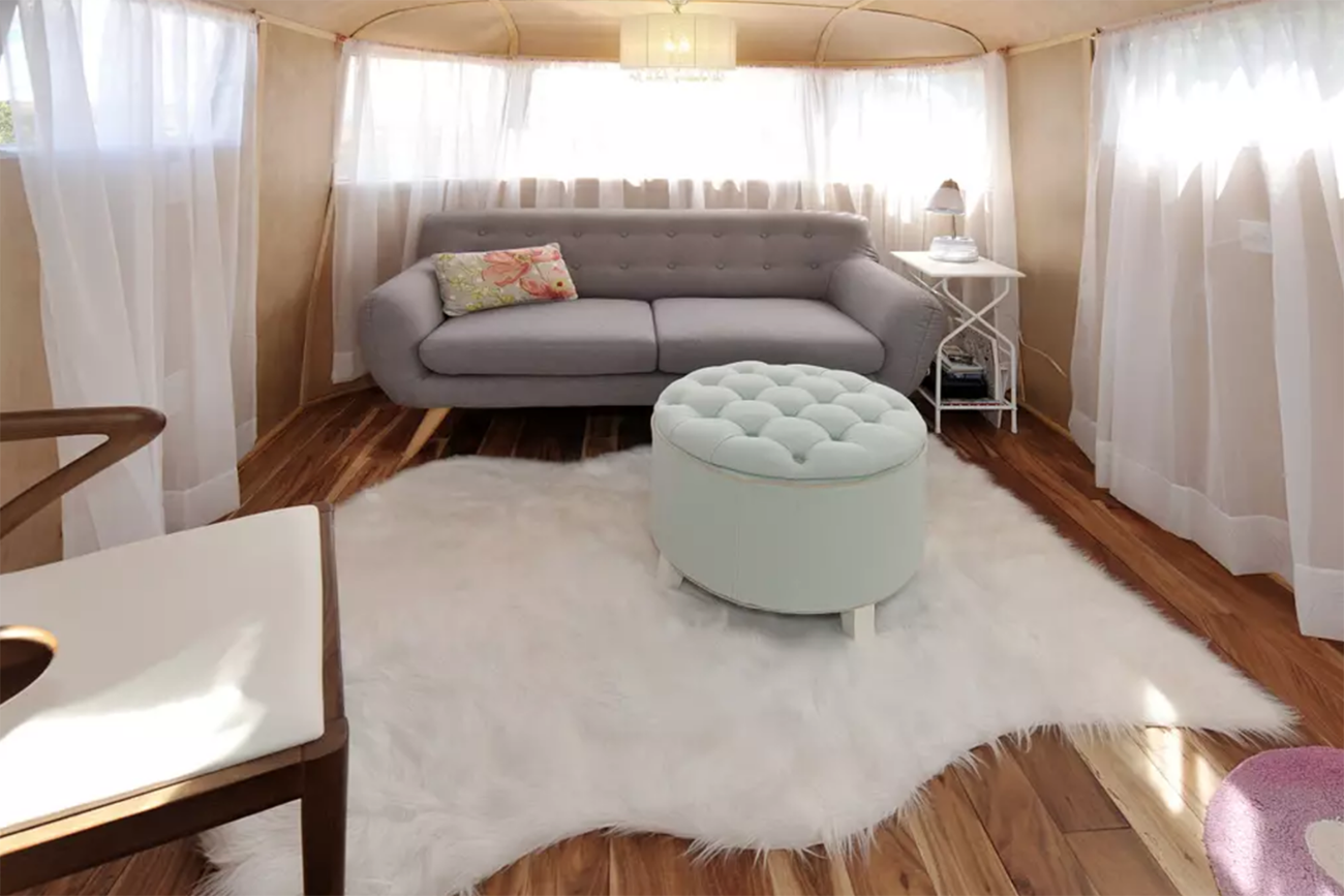 Vintage Airstream Trailer Airbnb