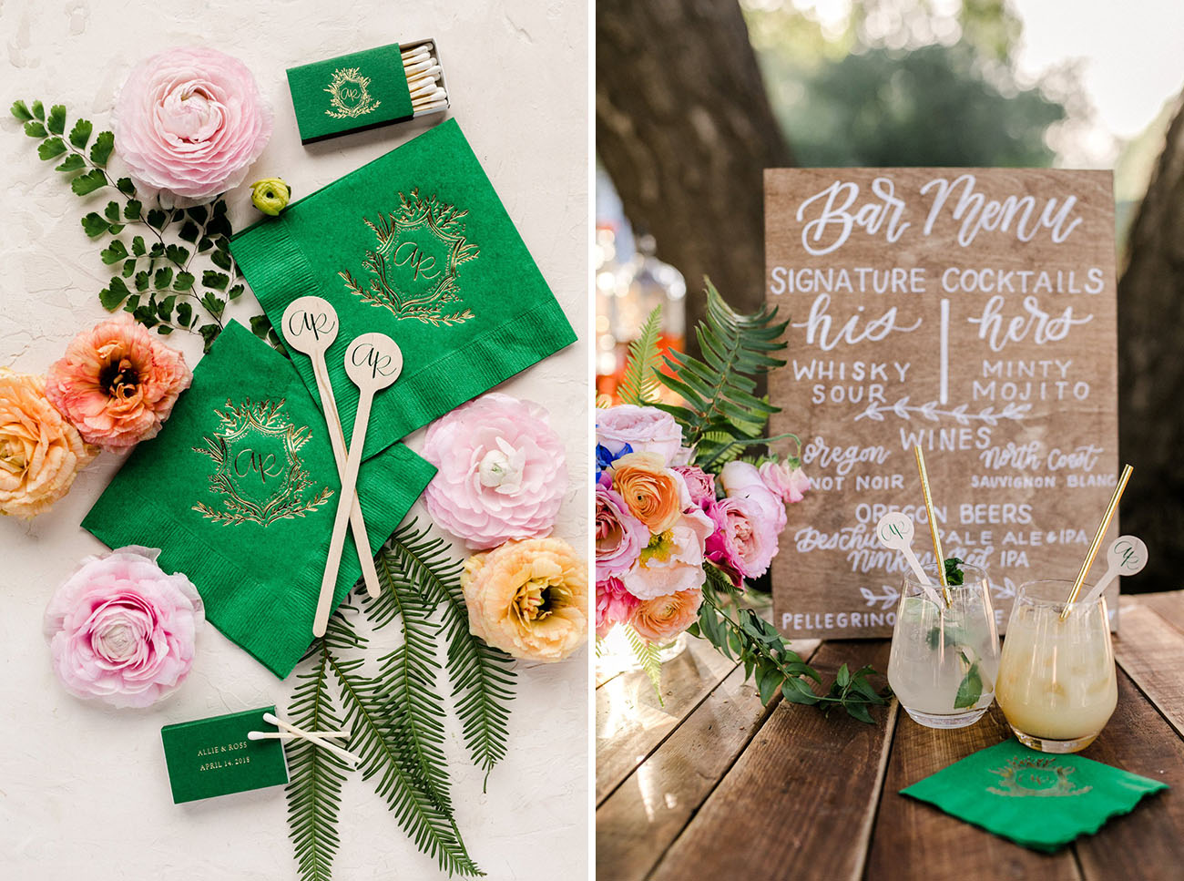 Colorful Spring Backyard Wedding