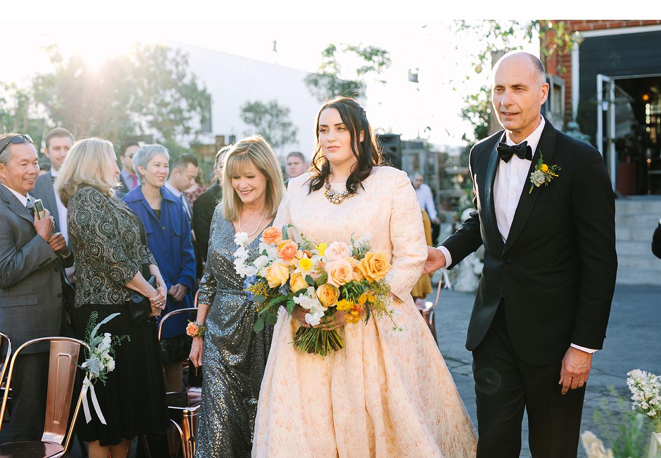 California Antique Shop Wedding