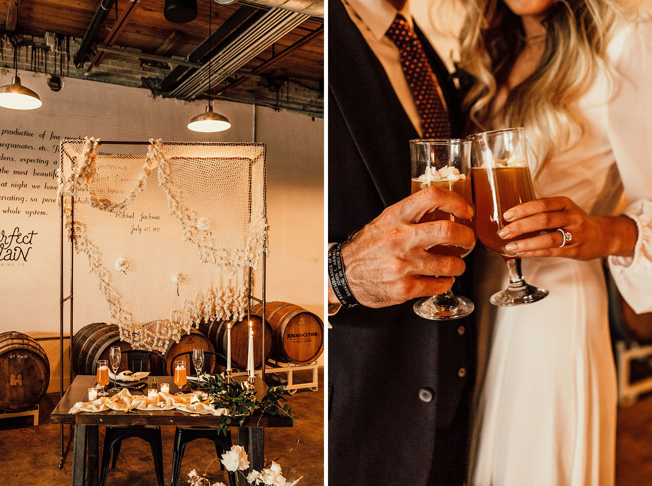 Boho Brewery Wedding Inspiration