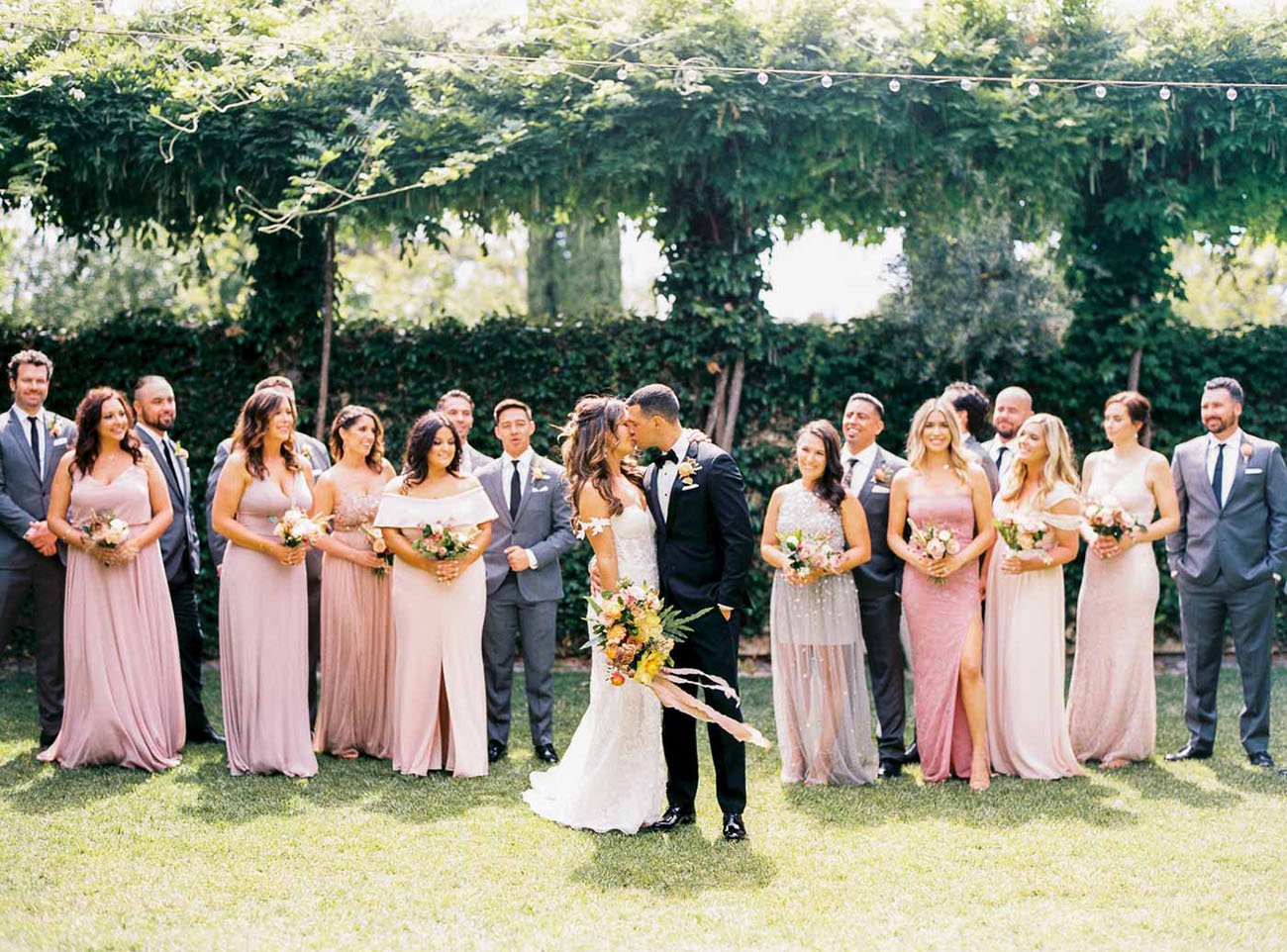 Modern Boho Garden Wedding