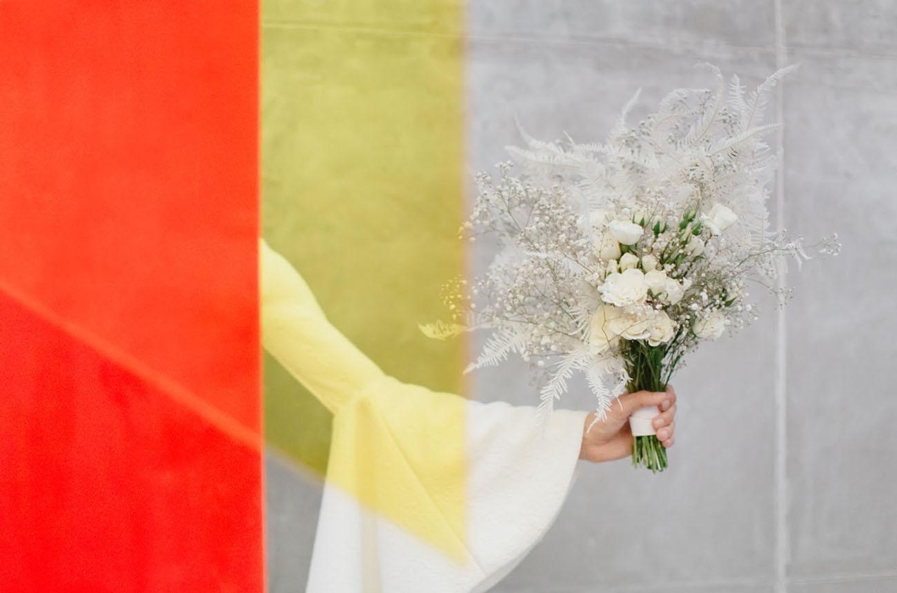Color Block Wedding Inspiration