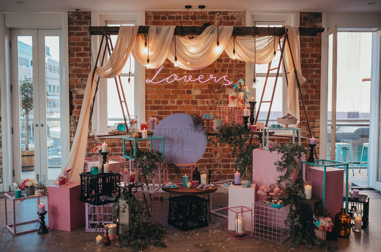 Electric Pastel Wedding Inspiration