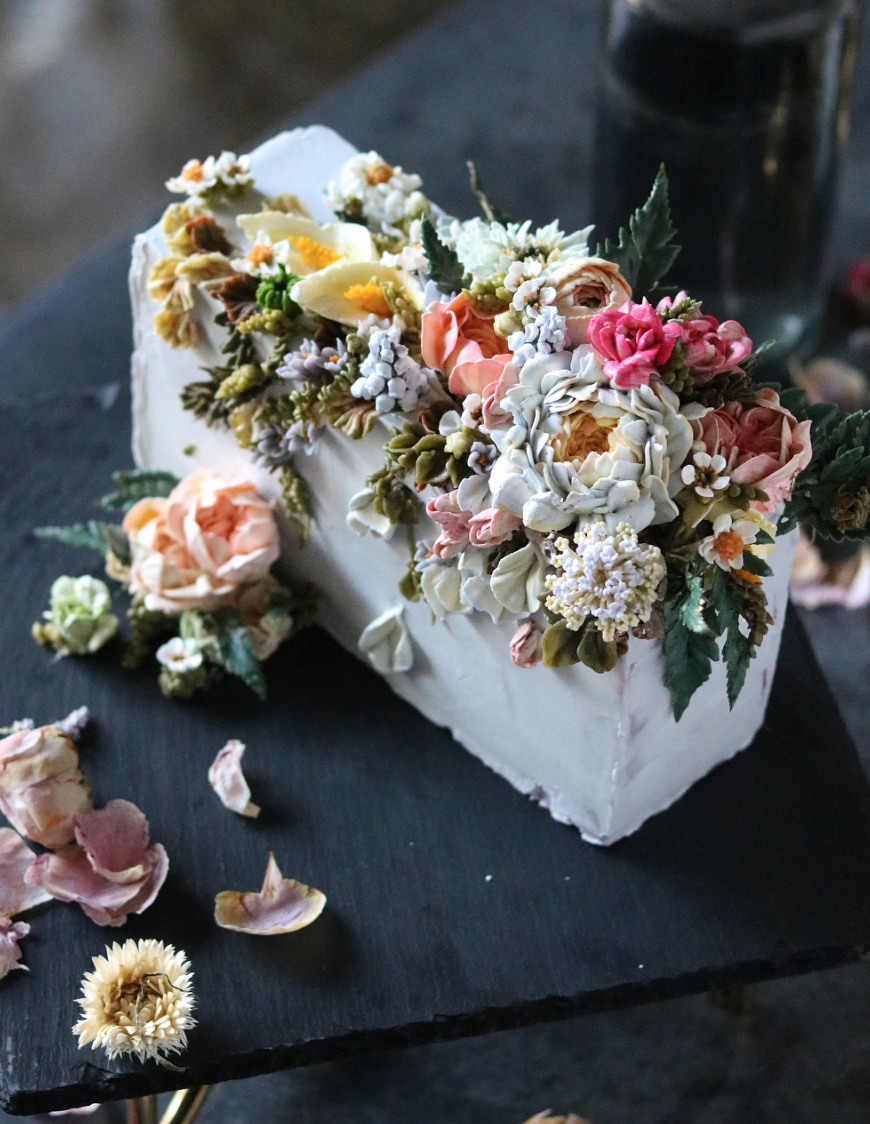 15 Jaw Dropping Floral Cake Ideas for Your Wedding Green