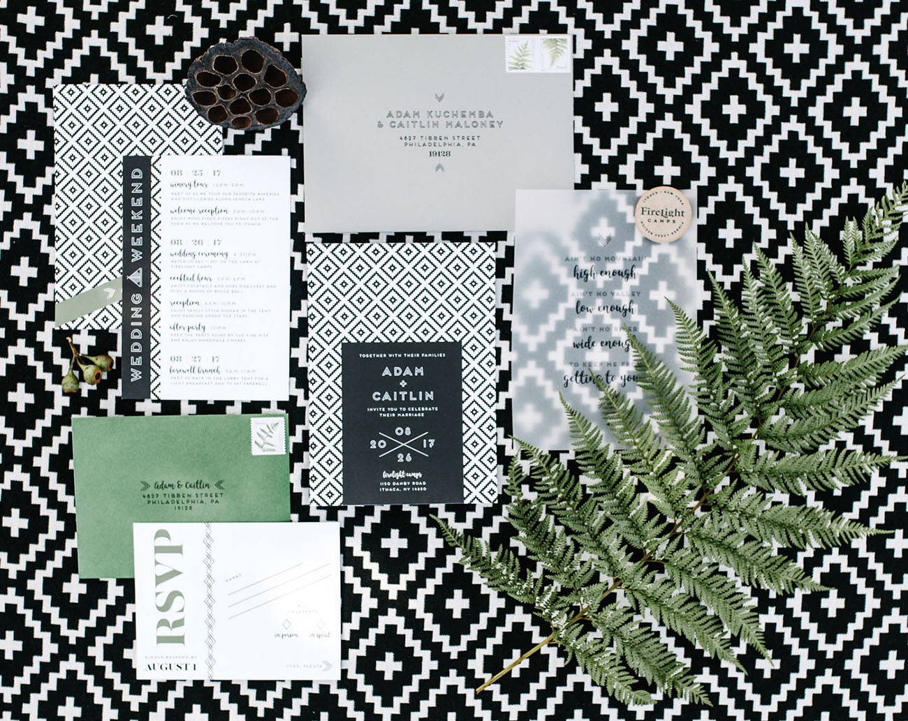 vellum invitation