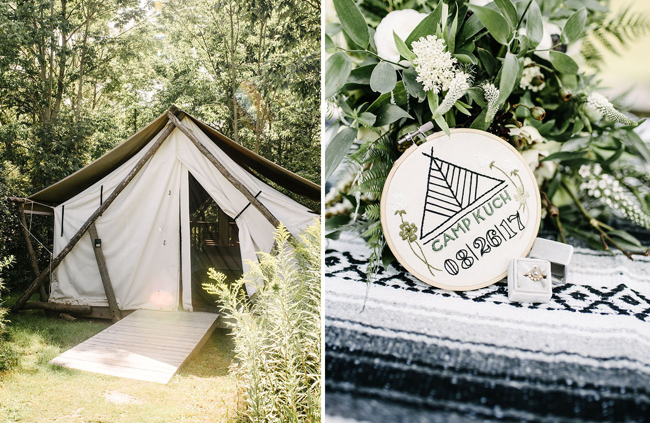 Glamping Wedding Weekend