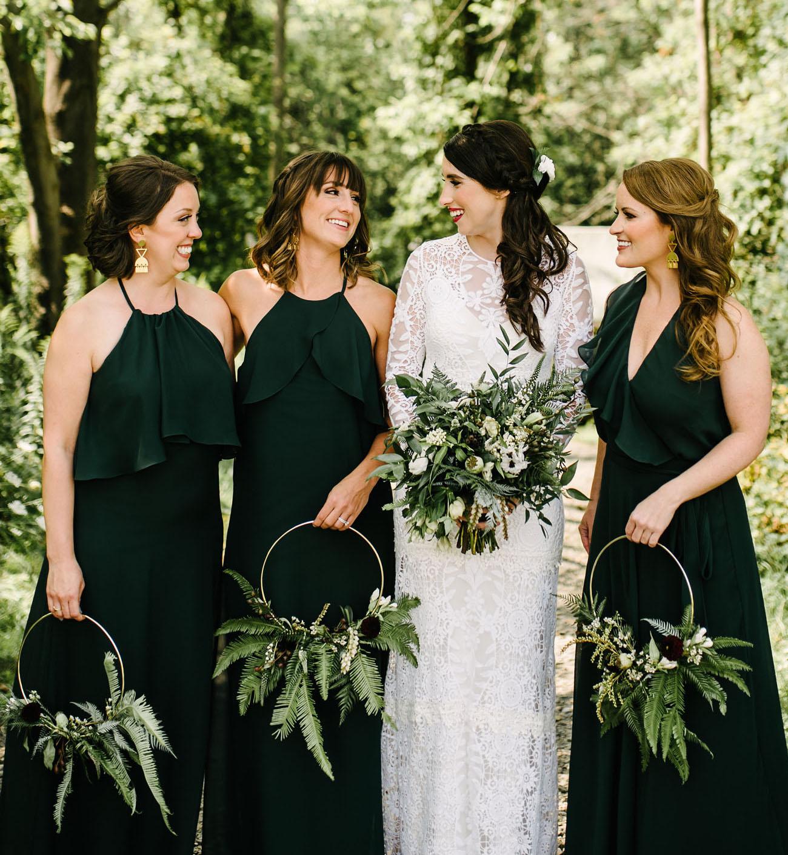 bridesmaids wreaths