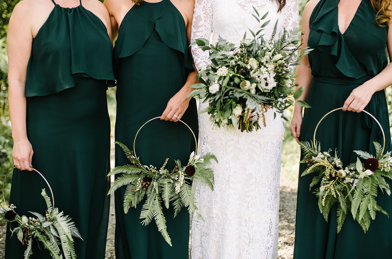 bridesmaid wreaths