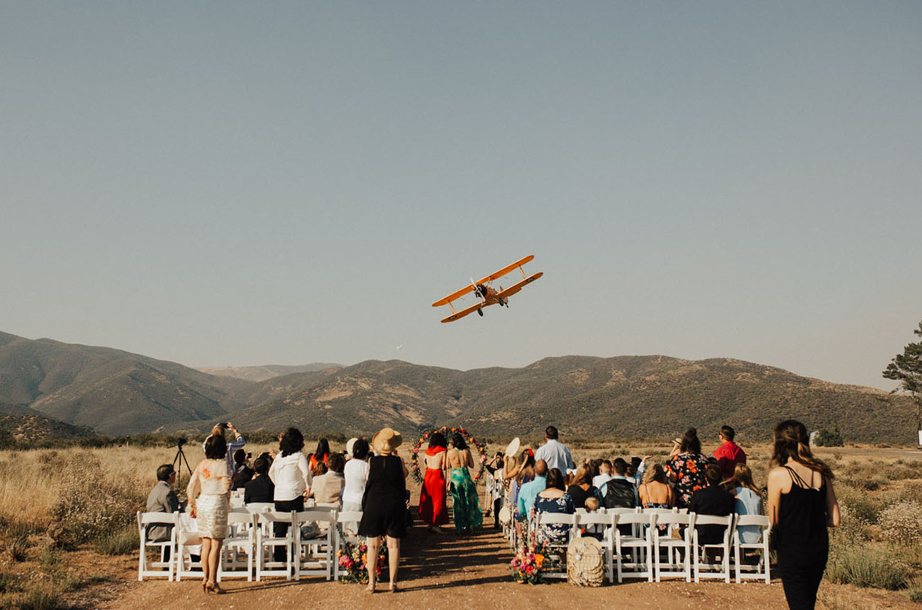 Backyard California Wedding
