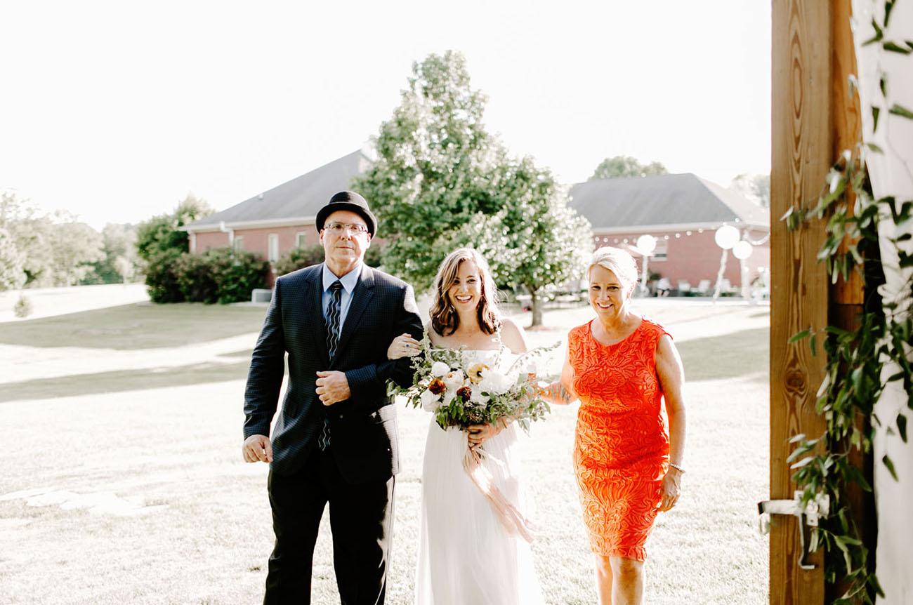 Surprise Backyard Wedding