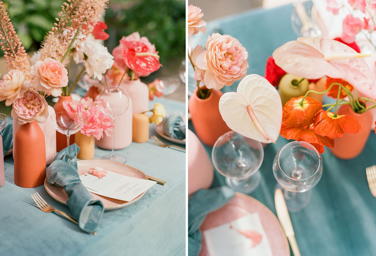 Modern Greenhouse Wedding Inspiration