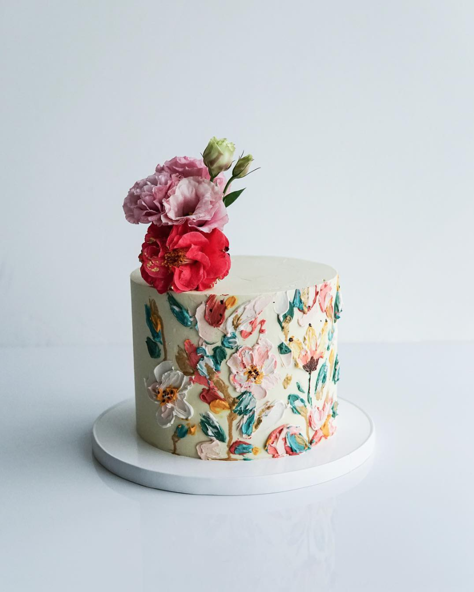 jaw-dropping floral cakes