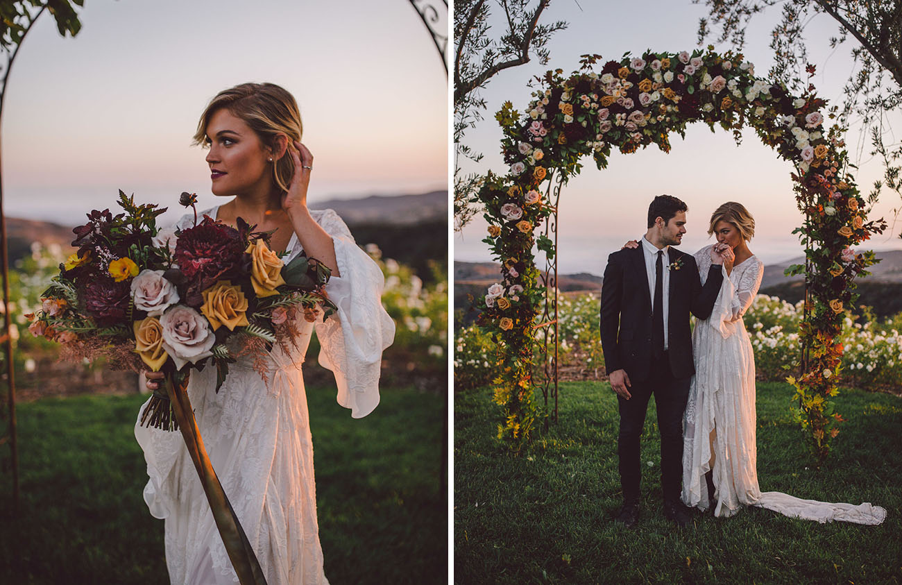Boho Malibu Wedding Inspiration