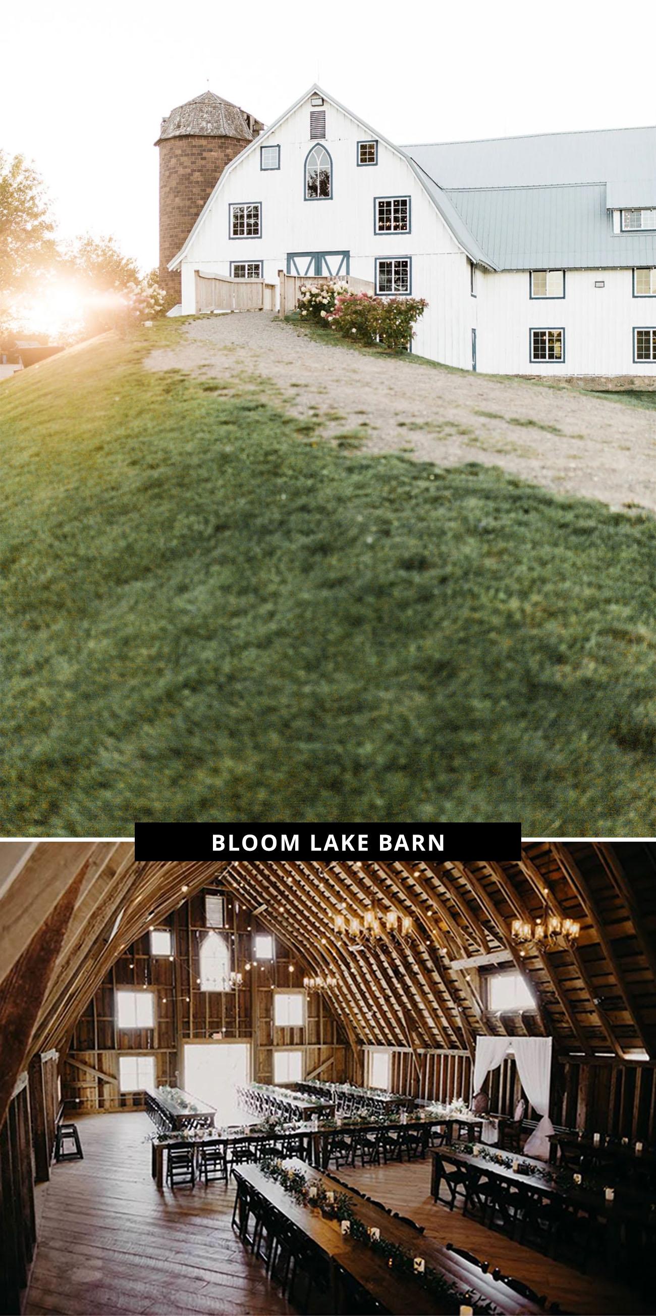 Bloom Lake Barn wedding venue