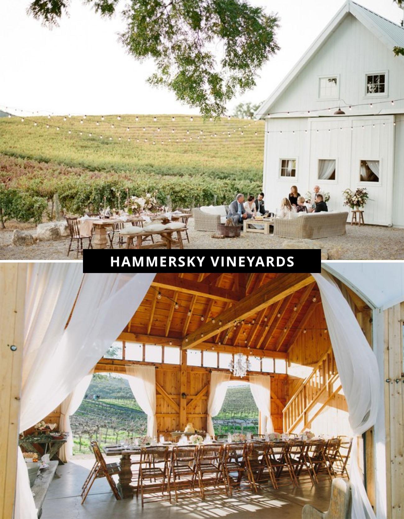 Hammersky Vineyards wedding venue