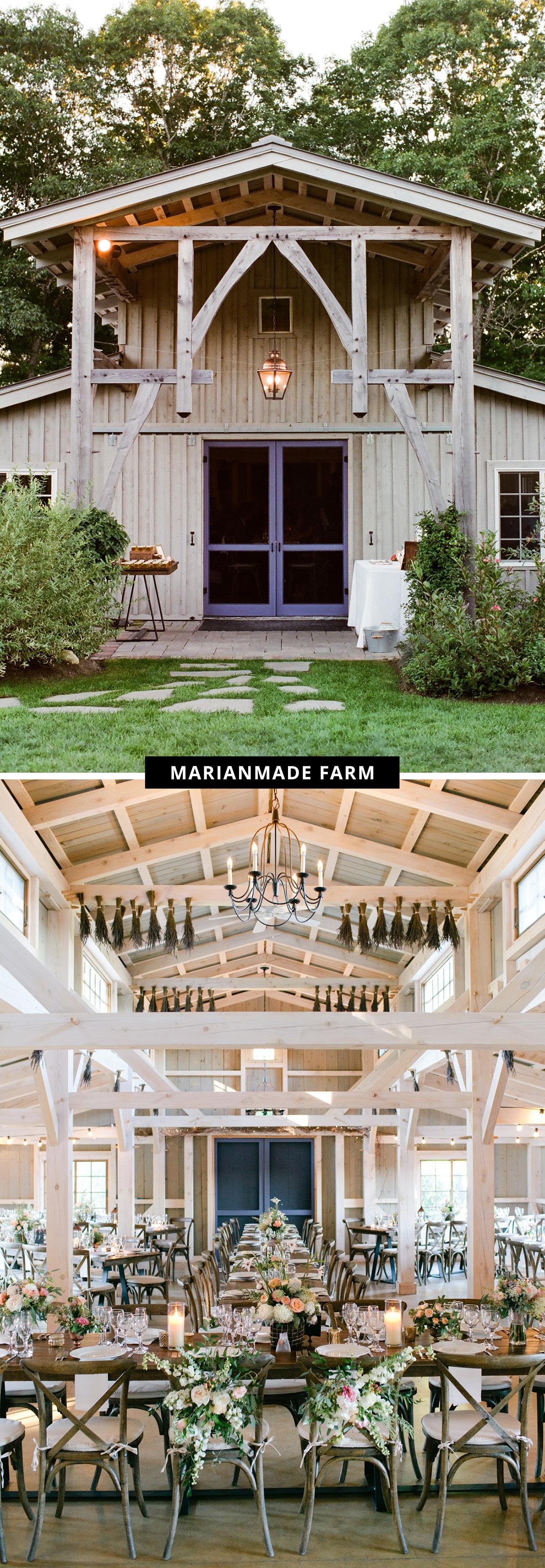 Marianmade Farm wedding venue