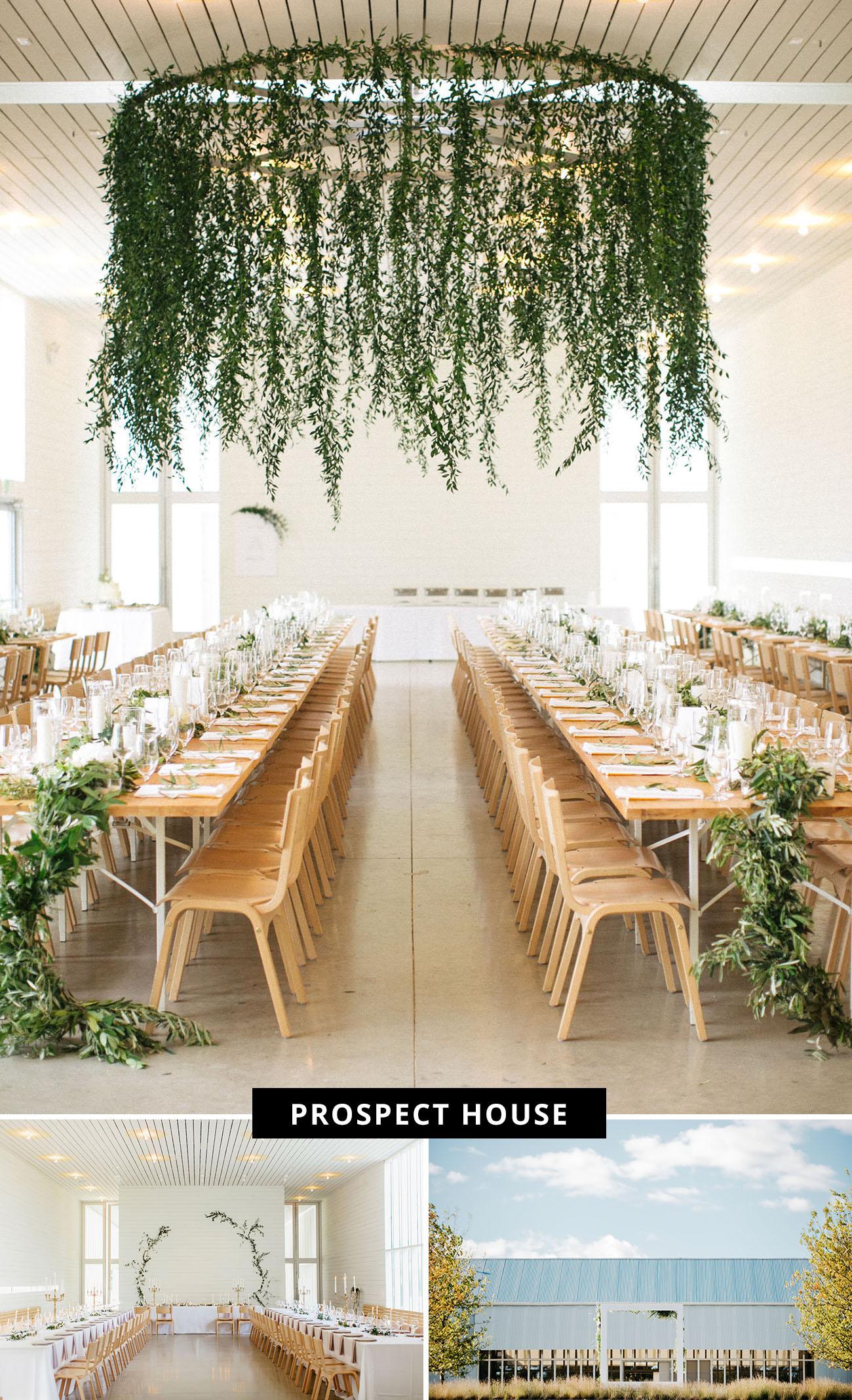 Prospect House modern barn wedding venue