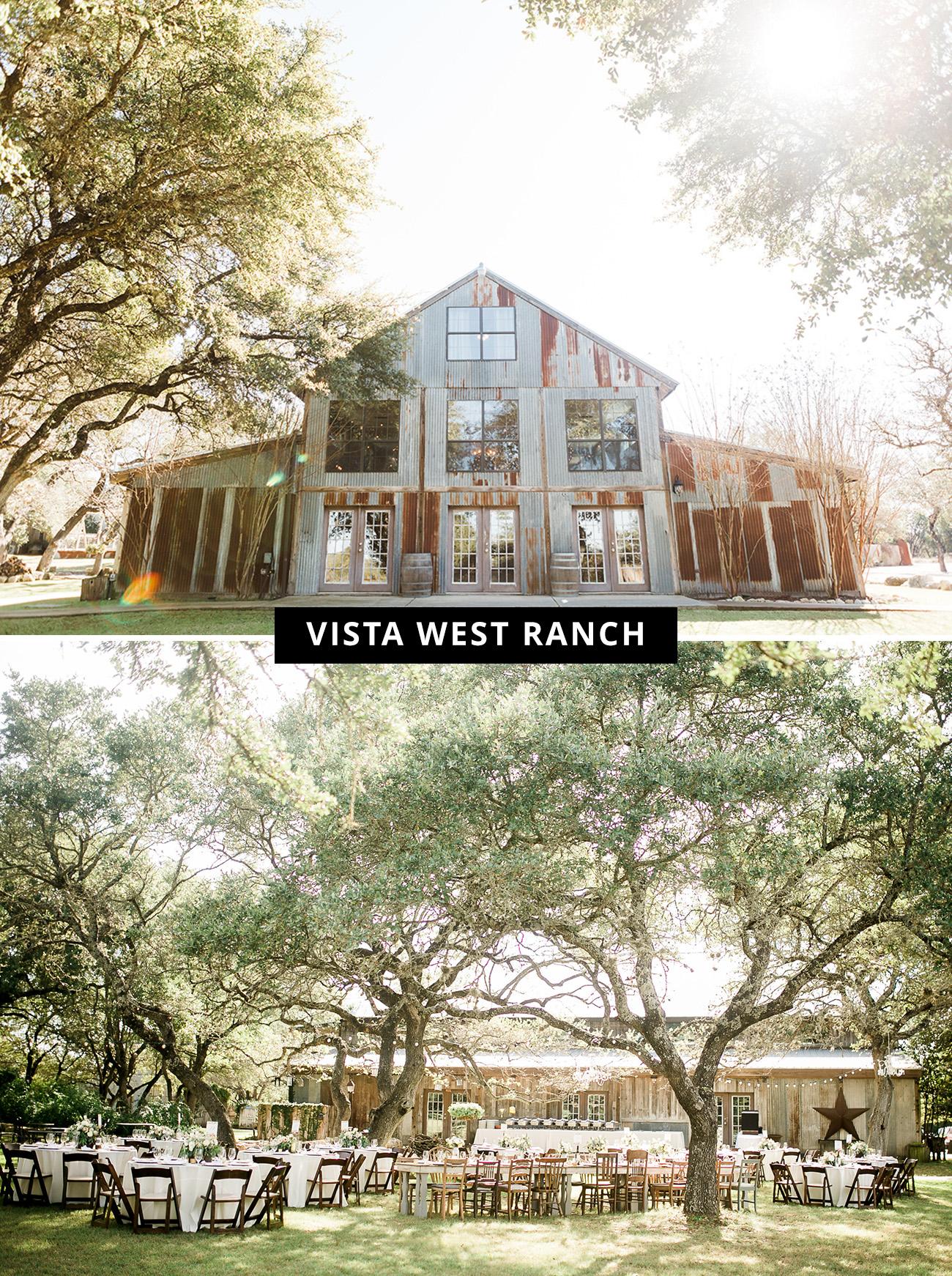 Vista West Ranch wedding venue