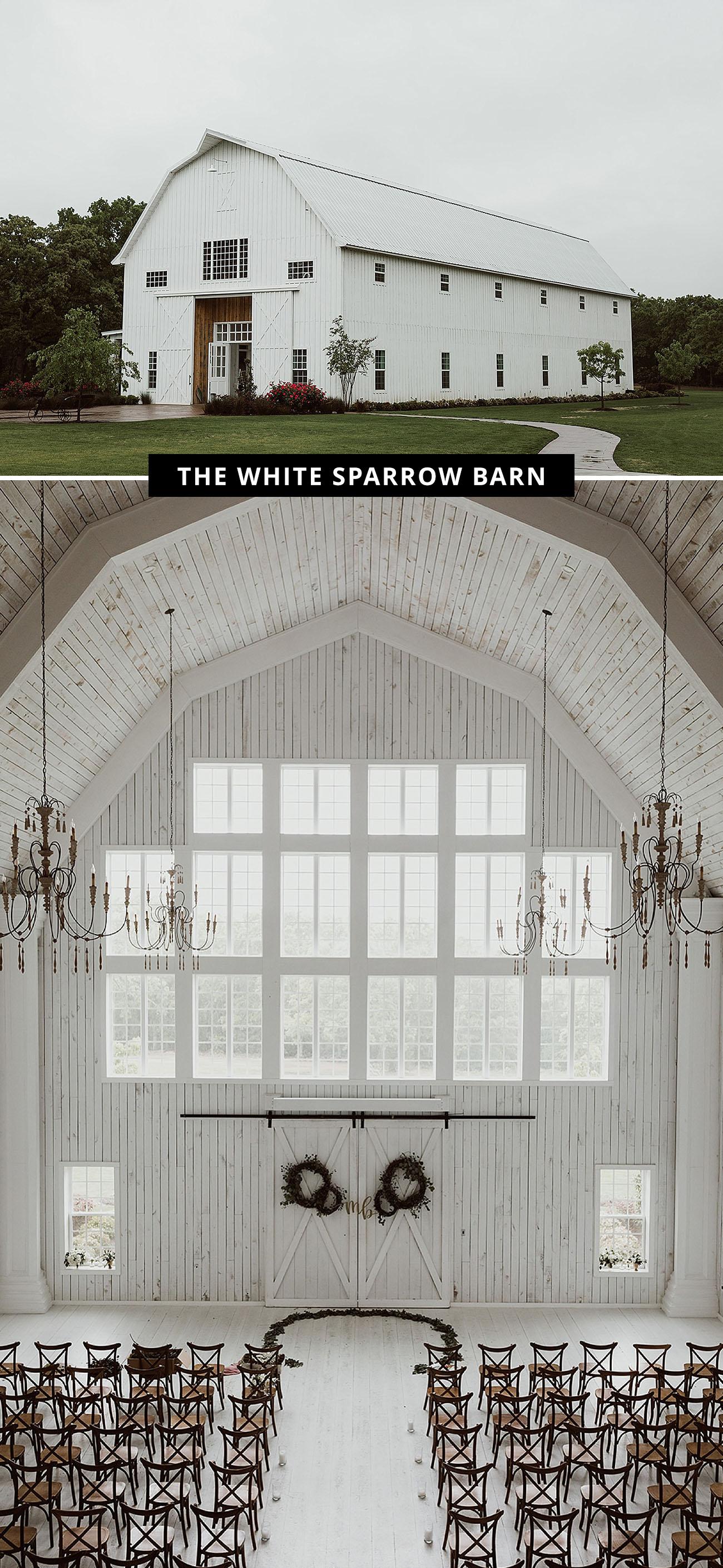 The White Sparrow Barn wedding venue
