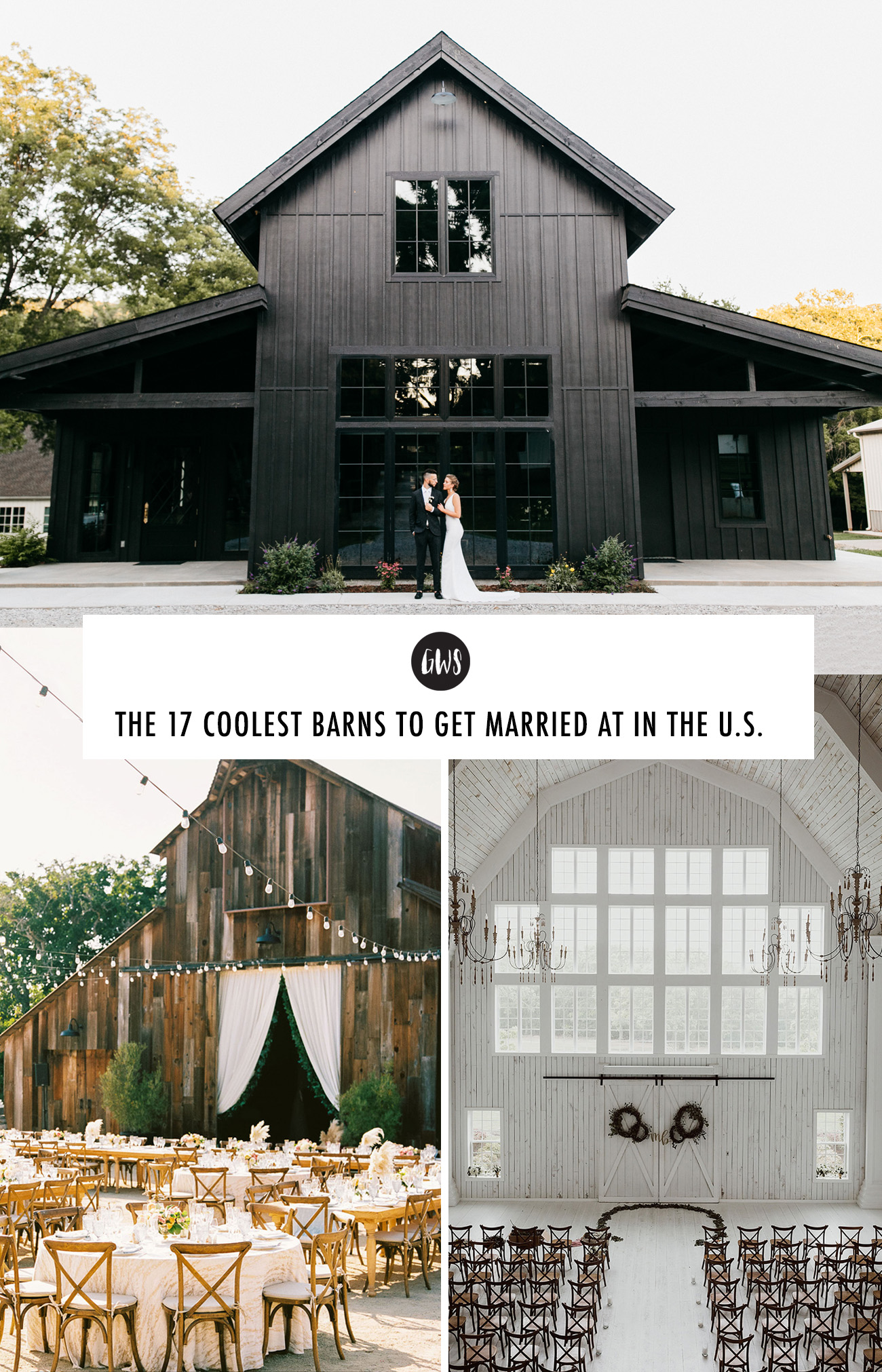 Coolest Barns to Get Married at in the US