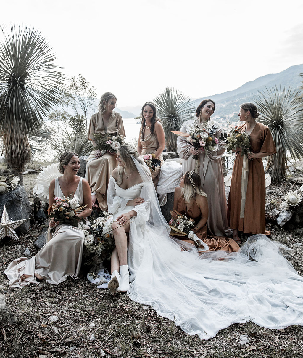 Daughters of Simone Lake Como Wedding