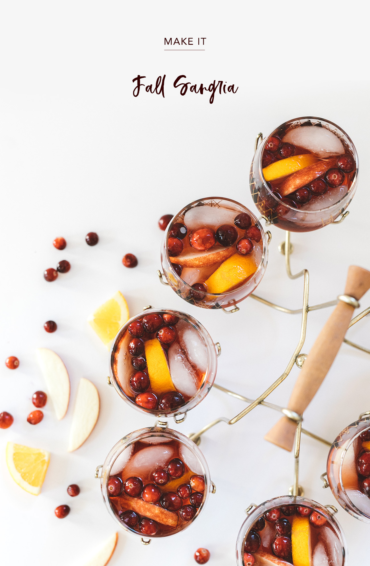 Fall Sangria Recipe